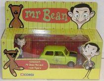 Mr. Bean - Corgi - Mr. Bean\\\'s Mini with resin figure