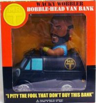 Mr. T - B.A. Barracus Van  Wacky Wobbler Bank - Funko