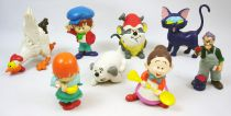 Mrs. Pepperpot - Maia Borges - Complete set of 8 pvc figures