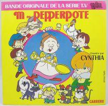 Mrs. Pepperpote - Mini-LP Record - Original French TV series Soundtrack - Carrere Records 1986