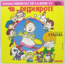 Mrs. Pepperpote - Mini-LP Record - Original French TV series Soundtrack - Carrere Records 1986