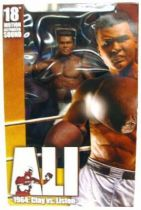 Muhammad Ali - 1964 : Clay vs. Liston - 18\'\' talking figure - Neca