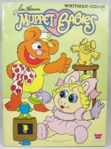 Muppet Babies - Whitman Coloring Book (Fozzie & Piggy)