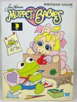 Muppet Babies - Whitman Coloring Book (Kermit & Piggy)