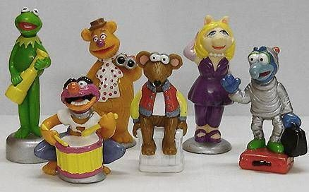 Muppet Show - Henson - set of 6 figures