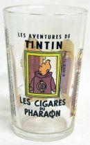 Mustard glass Amora Tintin Cigars of the Pharaoh