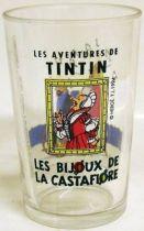 Mustard glass Amora Tintin The Castafiore\'s jewels