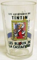 Mustard glass Amora Tintin The Castafiore\'s jewels