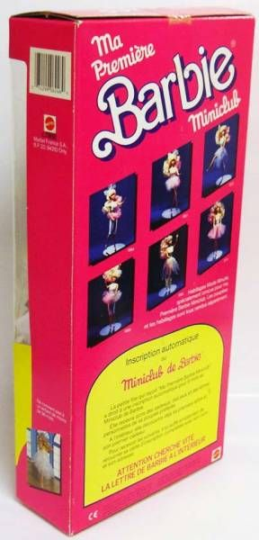 My First Barbie Miniclub - Mattel 1988 (ref.6246)