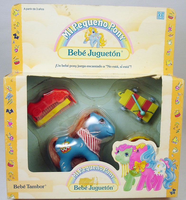 My Little Pony - 1989 Music Babies - Baby Drummer