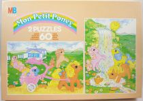 My Little Pony - MB - Set of two jigsaw puzzles (60 pieces each) - ref.3065.21