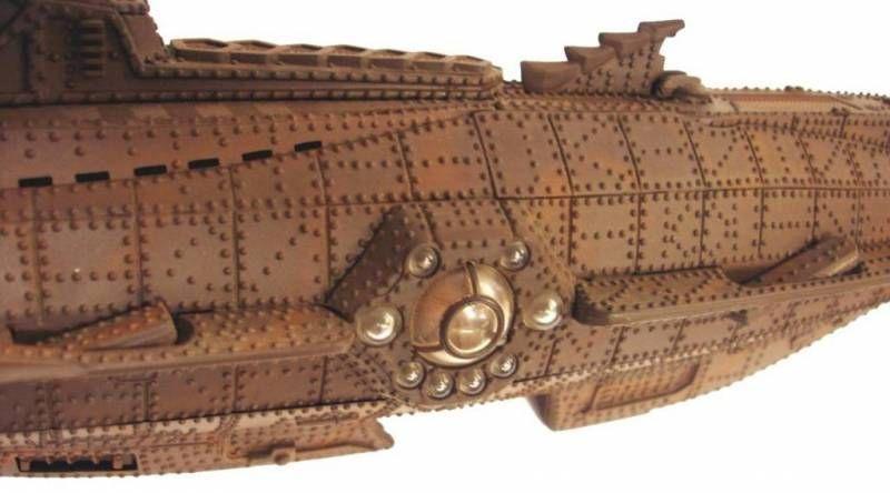 Nautilus 1:125 - 20,000 leagues under the Sea  - X-Plus