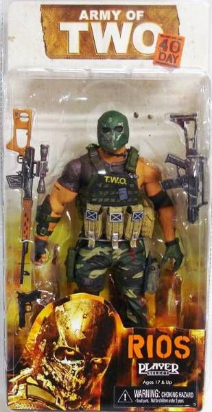 NECA - Army of TWO - Tyson Rios