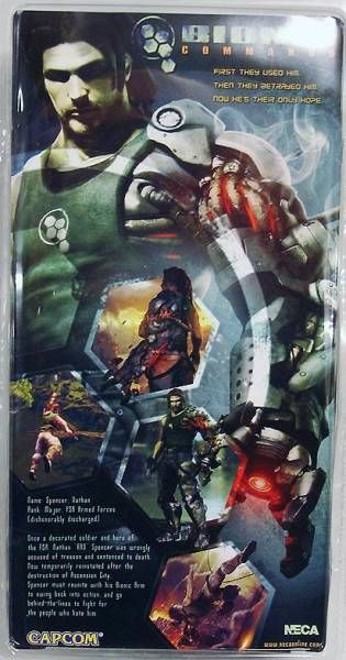 NECA - Bionic Commando - Nathan \\\'\\\'Rad\\\'\\\' Spencer