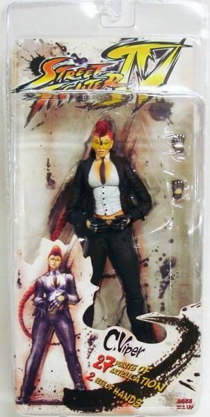 NECA - Street Fighter IV - Crimson Viper