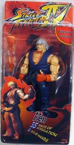 NECA - Street Fighter IV - Ken (Survival Mode)