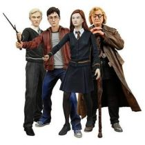 NECA - The Half-Blood Prince Series 1 - Set of 4 figures (Harry Potter, Ginny Weasley, Draco Malfoy & Mad-Eye Moody)