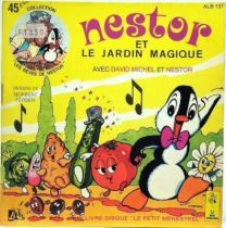 Nestor the pinguin , Merchandising Mini Lp and book, Nestor and the magic garden