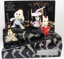 Nightmare before Christmas - Applause - Changing Faces figurine gift-set : Mayor, Lock, Shock, Barrel