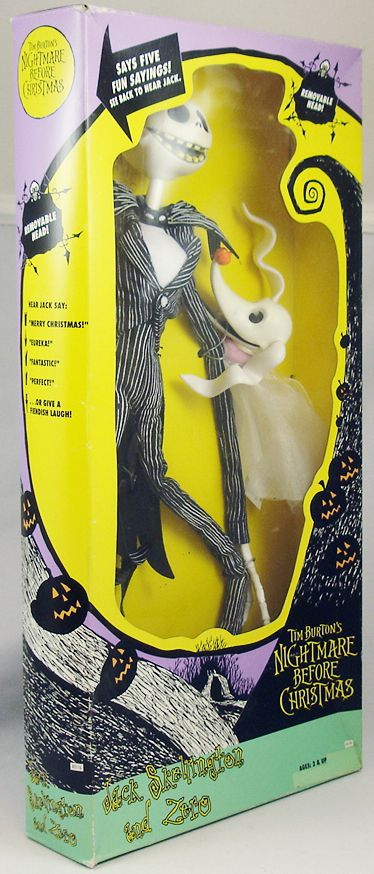 Nightmare before Christmas - Hasbro - Jack Skellington with Zero talking 14\'\' figure