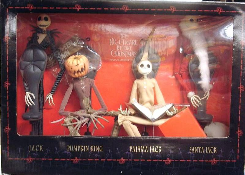 Nightmare before Christmas - Jun Planning - Jack Skellington 4-pack \'\'Millennium Edition\'\'