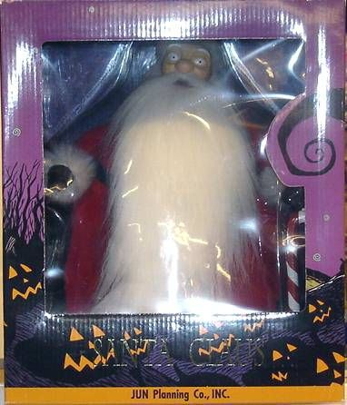 Nightmare before Christmas - Jun Planning - Santa action figure