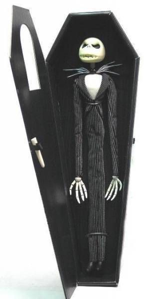 Nightmare before Christmas - Mascot - Jack angry 12 inches coffin