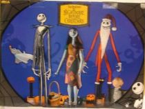 Nightmare before Christmas - NECA - Jack, Sally & Santa Jack (Boxed set)