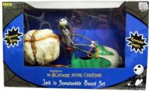 Nightmare before Christmas - NECA - Jack in Snowmobile (Boxed set)