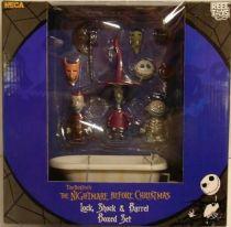 Nightmare before Christmas - NECA - Lock, Shock & Barrel (Boxed set)