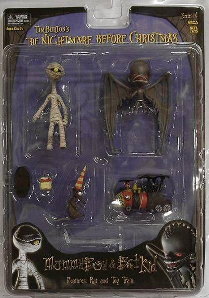 Nightmare before Christmas - NECA - Mummy Boy & Bat Kid (Series 4)