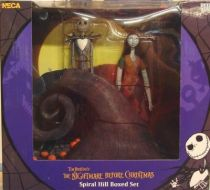 Nightmare before Christmas - NECA - Spiral Hill Jack & Sally (Boxed set)