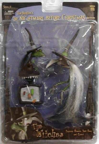 Nightmare before Christmas - NECA - The Witches (Series 2)