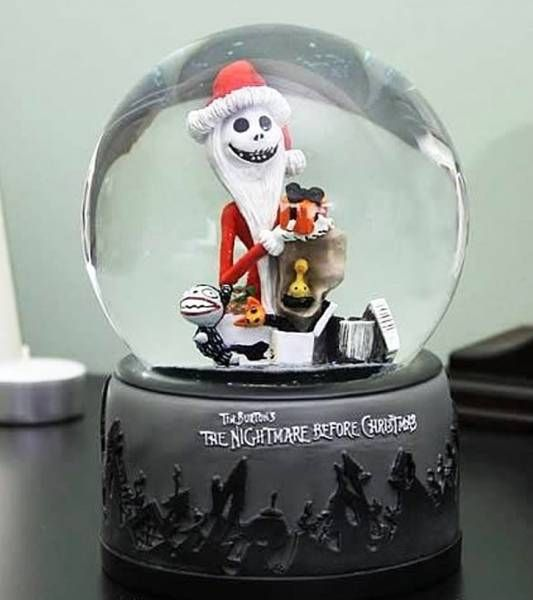 Nightmare Before Christmas - Santa Jack Waterball - Neca
