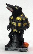 Nightmare before Christmas - Sega - Werewolf Mini Cold Cast