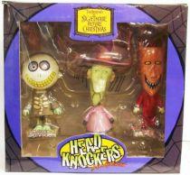 Nightmare Before Christmas - Statuette \'\'Headknocker\'\' NECA - Lock, Shock & Barrel (Am, Stram, Gram)