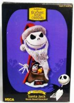 Nightmare Before Christmas - Statuette \'\'Headknocker\'\' NECA - Santa Jack