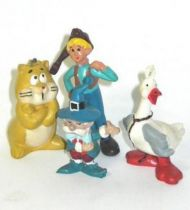 Nils Holgersson - Heimo pvc  figures - set of 4