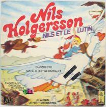 Nils Holgersson - Livre-Disque 45T Le Petit Menestrel - Nils et le Lutin - Ades 1984