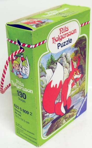 Nils Holgersson - Ravensburger 130 pieces jiggsaw puzzle - Smirre the fox