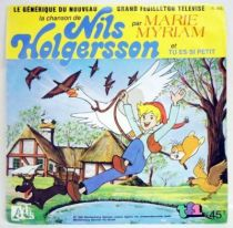 Nils Holgersson - Record 45s - New TV serie\'s soundtrack - Ades Records 1982