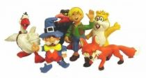 Nils Holgersson - Schleich - Set of 6 PVC figures