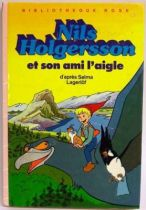 Nils Holgersson and his eagle friend - Children story book