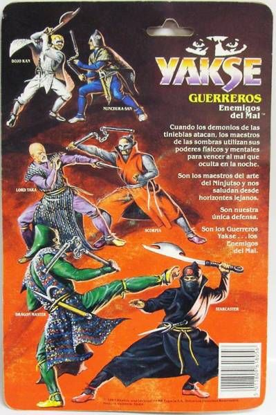 Ninja Warriors - Nunchuka-San - Hasbro