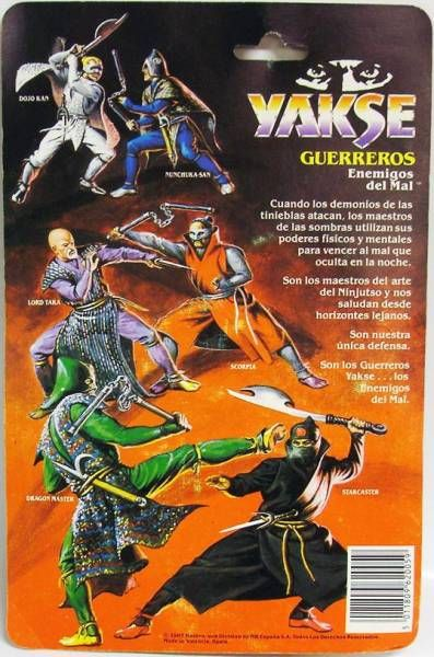 Ninja Warriors - Scorpia - Hasbro