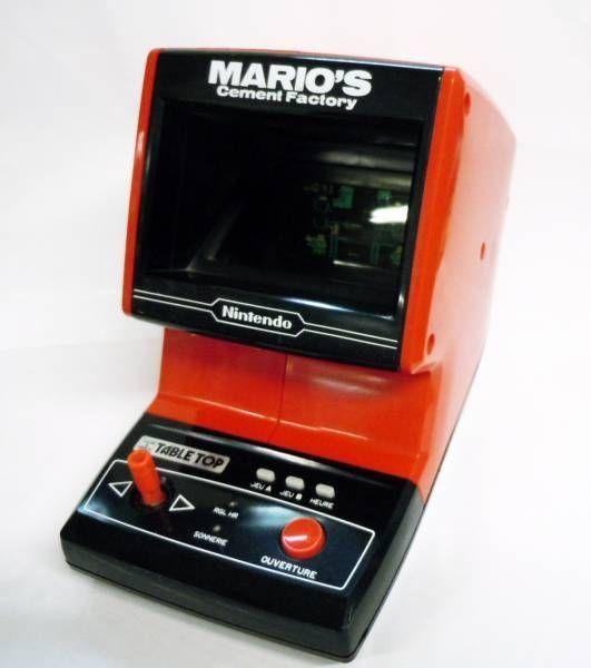 Nintendo Table Top Mario S Cement Factory Loose