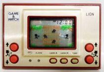 Nintendo Game & Watch - Gold Series - Lion (Loose)