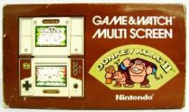 Nintendo Game & Watch - Multi Screen - Donkey Kong II (loose with box)
