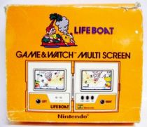 Nintendo Game & Watch - Multi Screen - Life Boat (Loose with Box)
