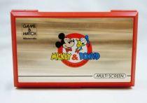 Nintendo Game & Watch - Multi Screen - Mickey & Donald (loose)